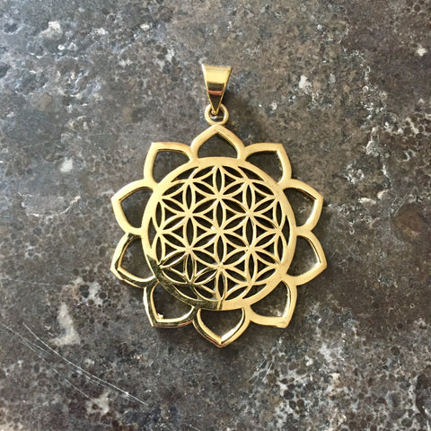 Flower of Life Lotus