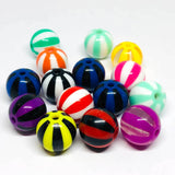 Charm/Pendant - Beach Ball Beads - 25 Pieces