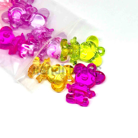 Charm/Pendant - Kandi Mouse Pendants- 25 Pieces