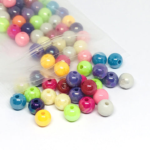 Charm/Pendant - Pearl Beads- 100 Pieces