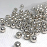Charm/Pendant - Silver Ball Beads - 300 Pieces