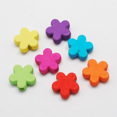 Craft Beads - Matte Flower Beads - 100 Pack