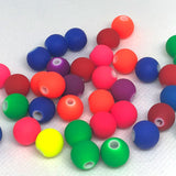 Craft Beads - Neon Balls - 100 Pieces