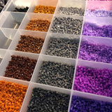 Craft Beads - No Spill Plastic Bead Organizer - 32 Bin