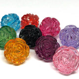Flowers - Rose Kandi Beads - 10 Pieces