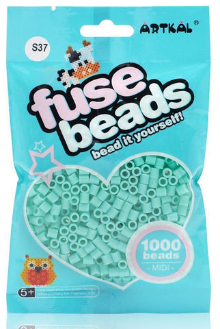 Midi Fuse Beads - Artkal Fuse Beads - S37 BlueGreen 1000 Beads