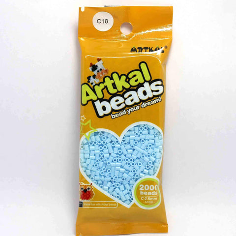 Midi Fuse Beads - Artkal Mini C18 - Sky Blue C-2.6mm