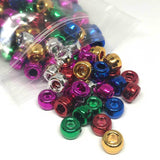 Pony Beads - Metallic Pony Beads Assorted - 300 Pack