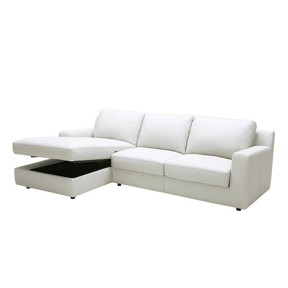 Billy J Left Sectional Sofa Bed + Storage