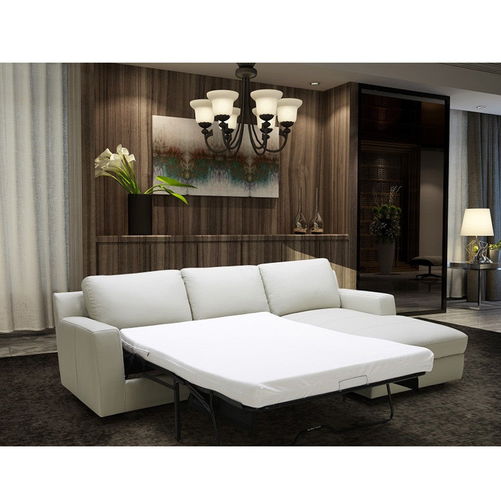 Billy J Right Sectional Sofa Bed + Storage