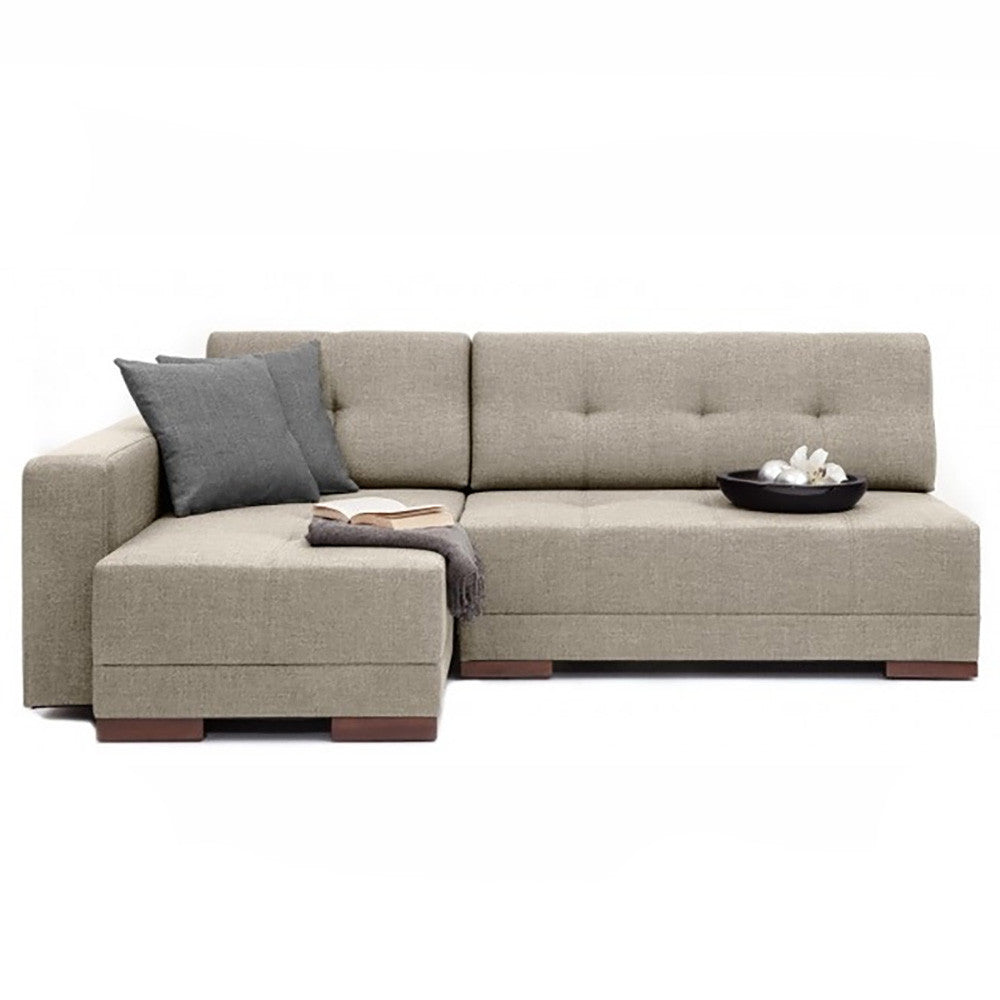 Corner Left Sectional Sofa Bed  sc 1 st  The Smart Sofa : chaise longue sofa bed - Sectionals, Sofas & Couches