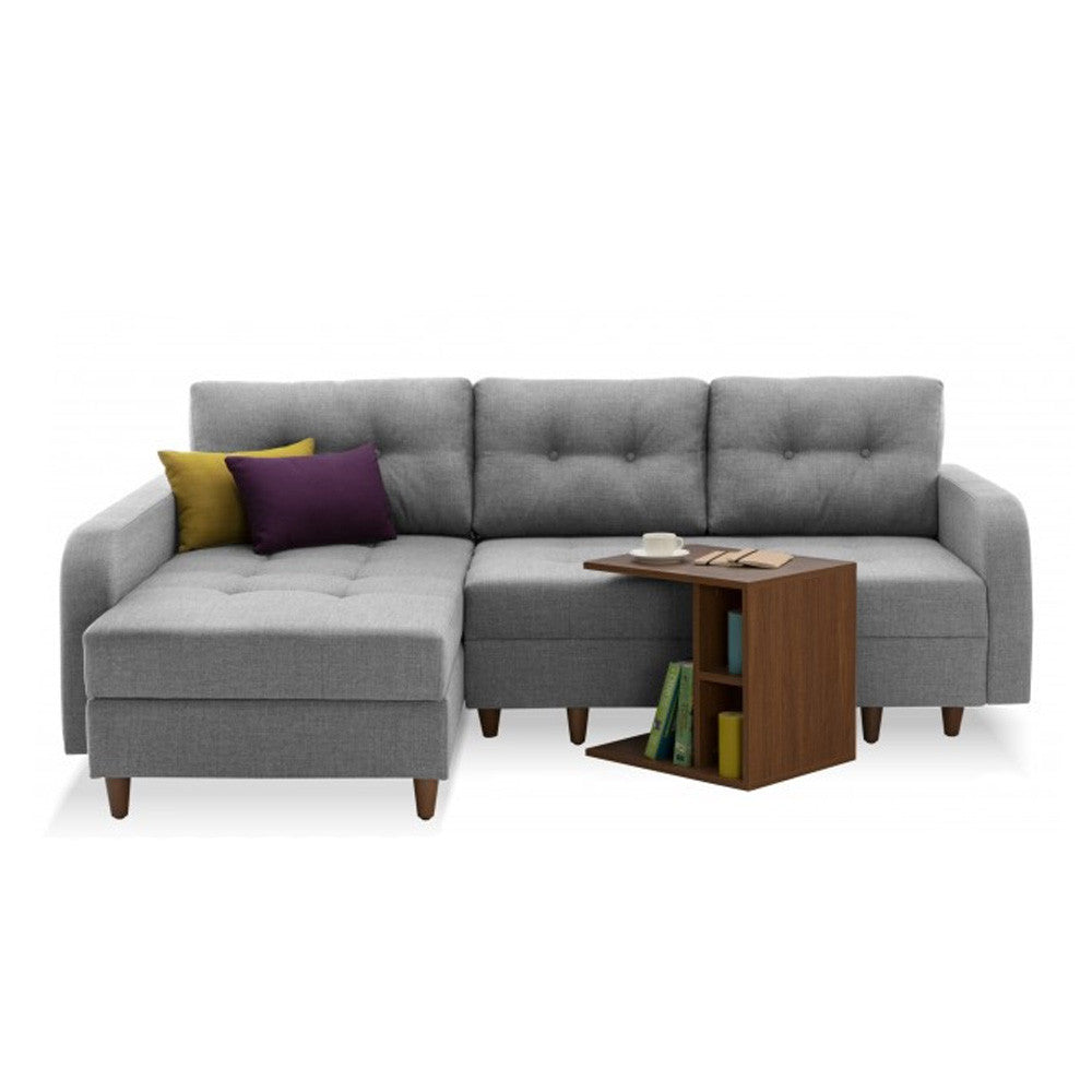 Empire Left Sectional Sofa Bed With Storage