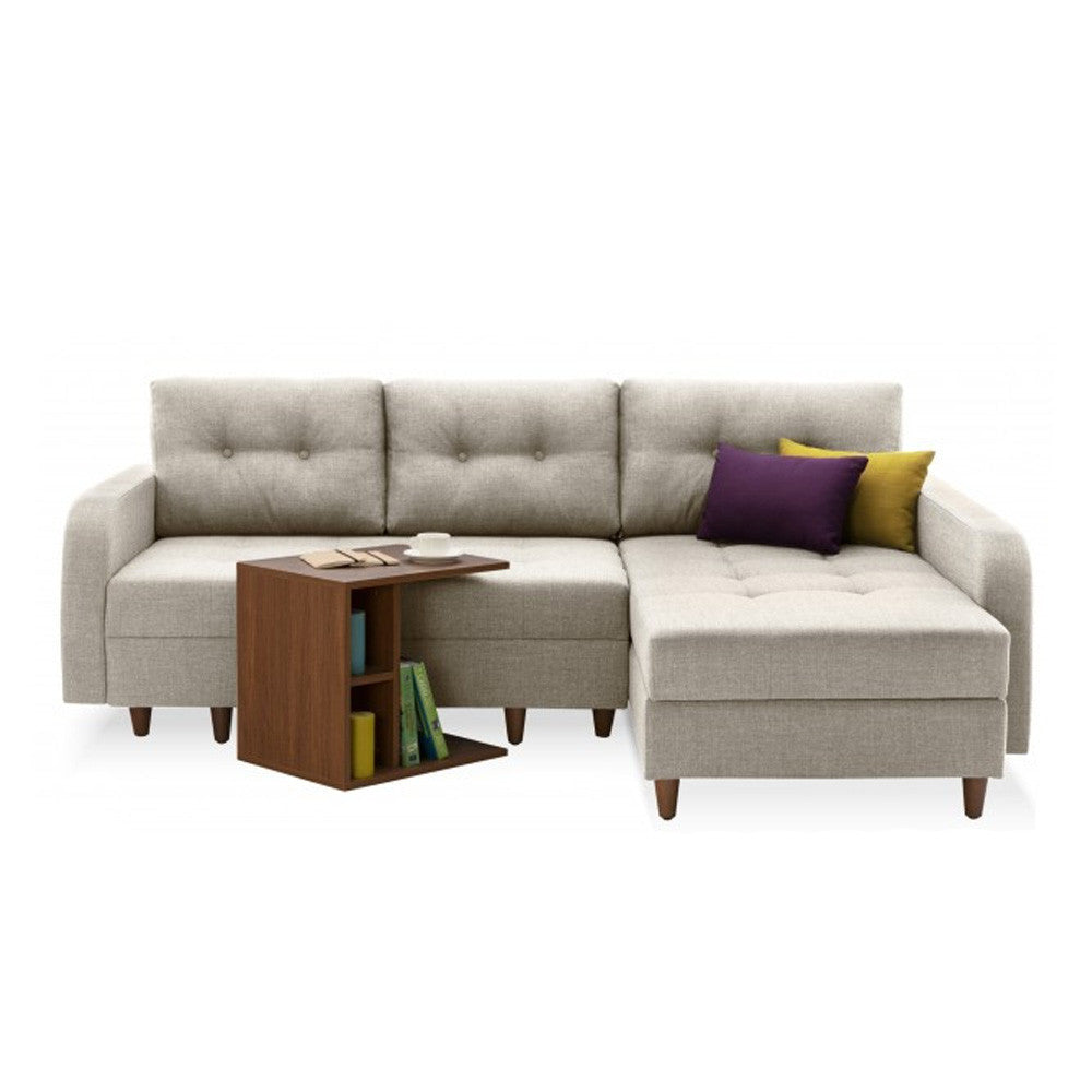 Awesome Empire Right Sectional Sofa Bed With Storage