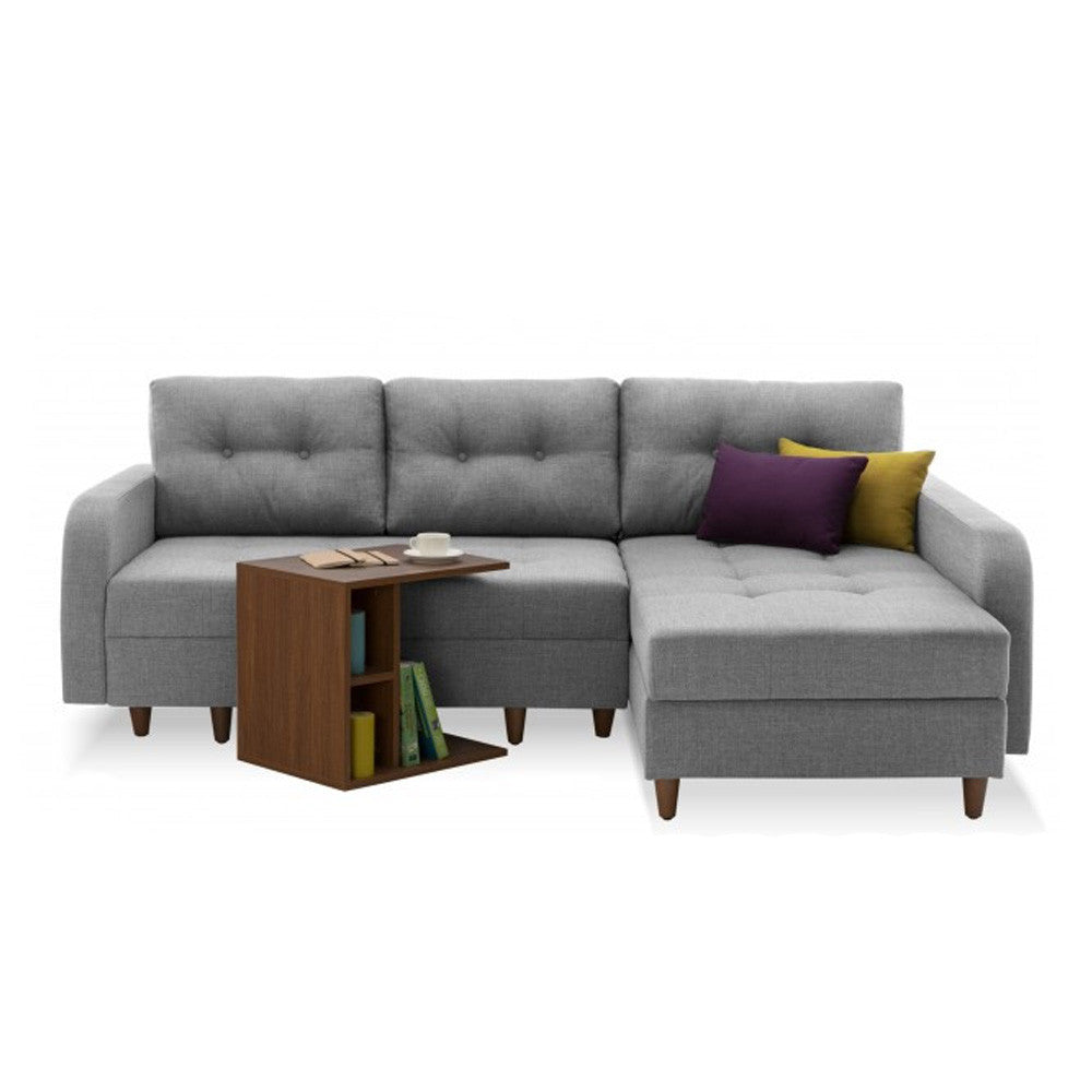 Empire Right Sectional Sofa Bed with Storage  sc 1 st  The Smart Sofa : storage sectional sofa - Sectionals, Sofas & Couches