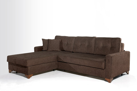Gramercy Sectional Sofa Bed - RIGHT SIDED - The Smart Sofa Modern Sofa Bed Sit, Store, Sleep