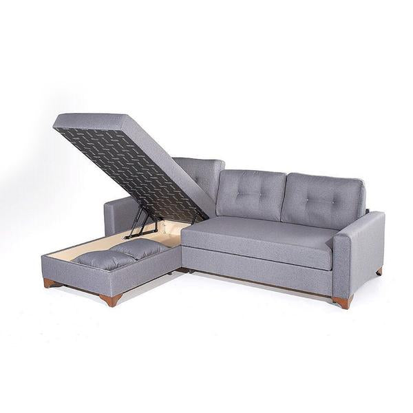 Gramercy Sectional Sofa Bed-LEFT SIDED  sc 1 st  The Smart Sofa : sofa bed with chaise lounge - Sectionals, Sofas & Couches