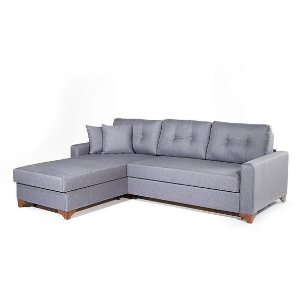 Gramercy Sectional Sofa Bed-LEFT SIDED  sc 1 st  The Smart Sofa : sofa bed chaise lounge - Sectionals, Sofas & Couches