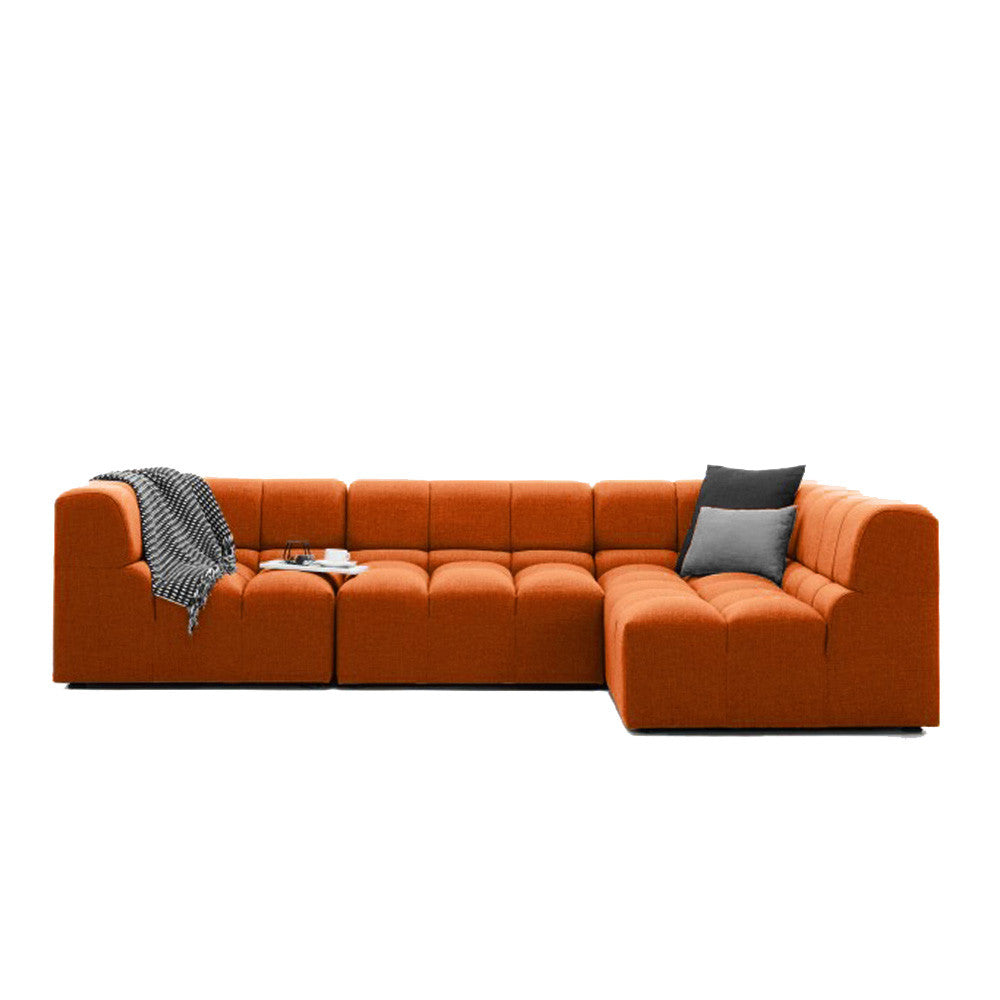 Marshmallow Sectional Sofa  sc 1 st  The Smart Sofa : orange sectional sofa - Sectionals, Sofas & Couches