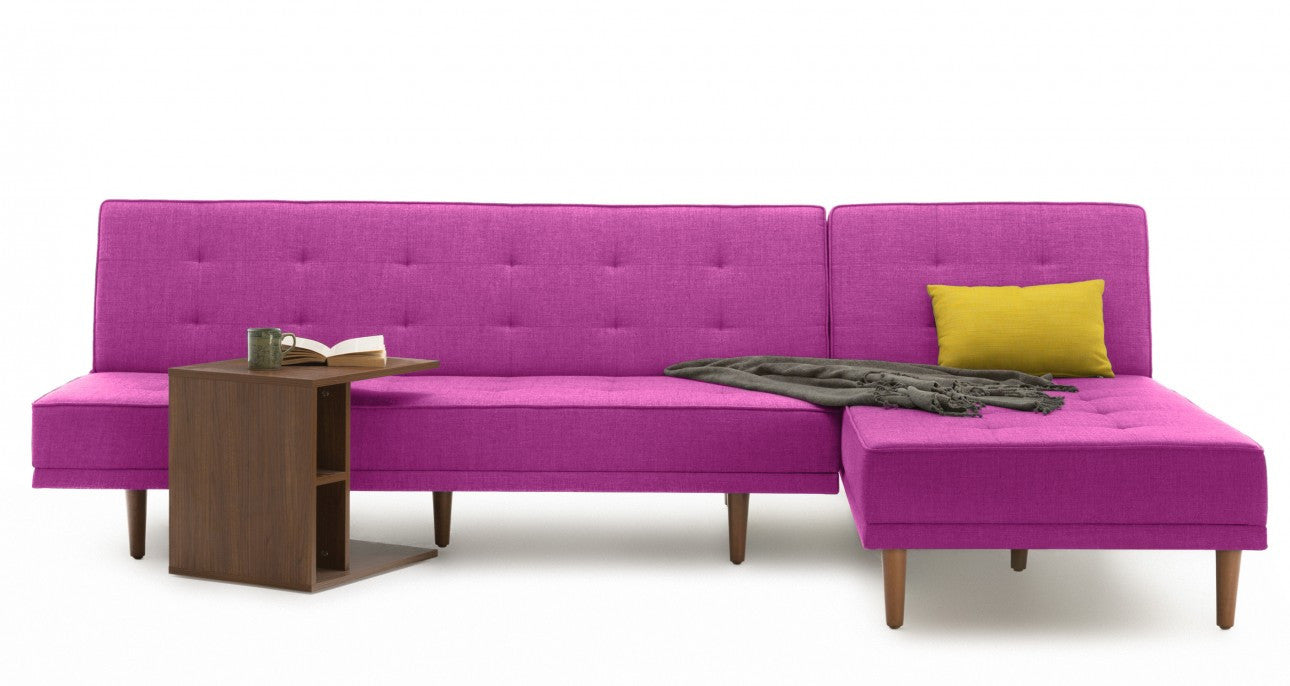 Sleek Sectional Sofa Bed  sc 1 st  The Smart Sofa : purple sectional couch - Sectionals, Sofas & Couches