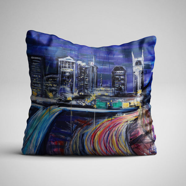 Nashville Skyline Pillows