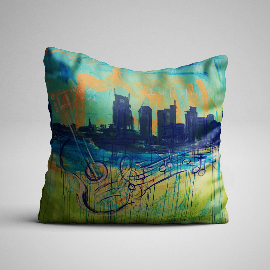 Always Nashville Pillow
