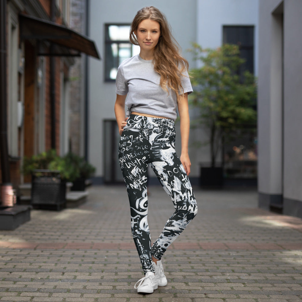 Beyond Black and White Leggings