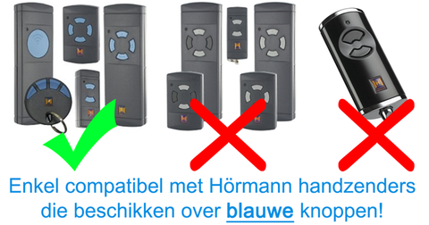 Hormann VS0-27-868-H vervangzender compatibiliteit