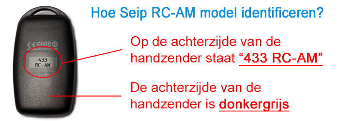 Seip RC-AM identificeren