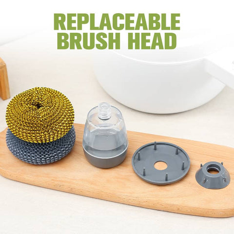 Replaceable brush head