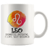 Leo Constellation Coffee Mug - Zodiac Coffee Cup - Great Gift For Horoscope Lover - SPCM