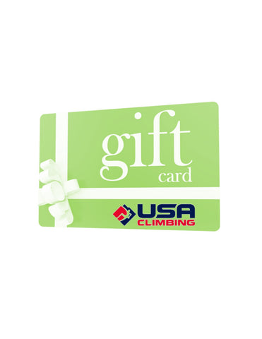 USA Climbing Merchandise Gift Card