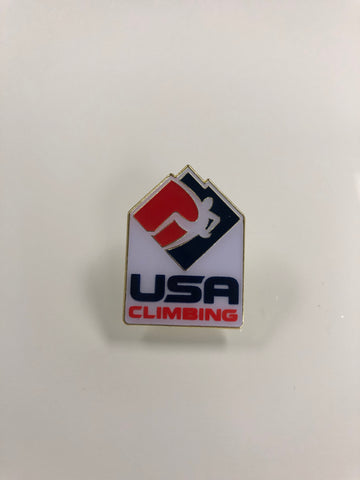 USA Climbing White Pin