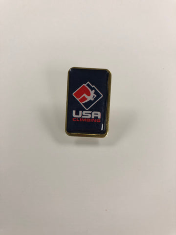 USA Climbing Blue Pin