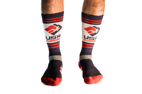 USA Climbing Socks