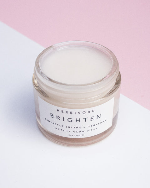 N E W - BRIGHTEN PINEAPPLE + GEMSTONE MASK