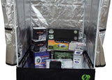 Grow Tent Package 3' x 3' - 400W Bulb, Ballast, Reflector