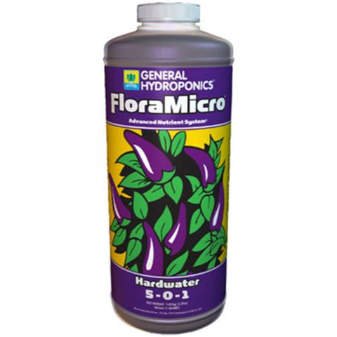 General Hydroponics Flora Micro Hardwater