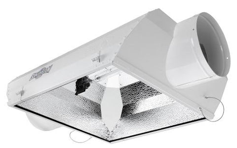 Double-Ended Air-Cooled Grow Light Reflector