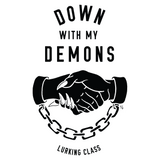 Down With My Demons Tee - White