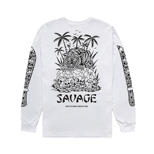 PORT CITY DRAKE x SKETCHY TANK LONGSLEEVE