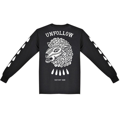 Unfollow Longsleeve Tee Back