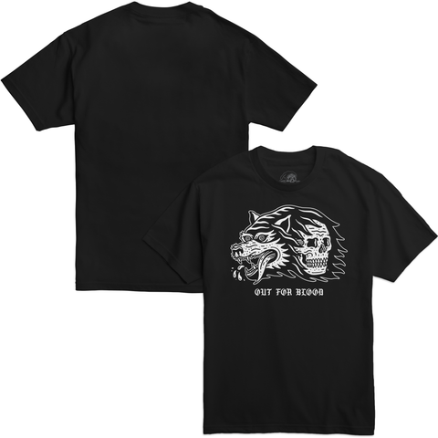 Blood Black T-Shirt | Lurking Class by Sketchy Tank