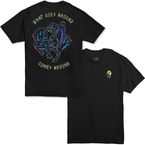 Karma Blacklight T-Shirt | Lurking Class by Sketchy Tank