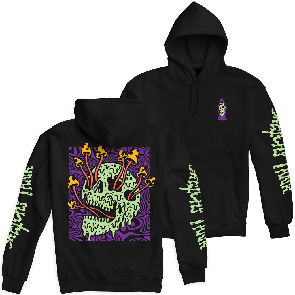 Fungus Blacklight Pullover Hooded Sweatshirt | Lurking Class by Sketchy Tank