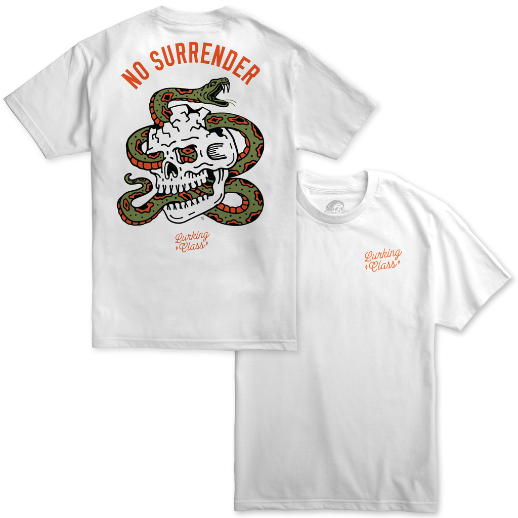 Surrender Tee - White