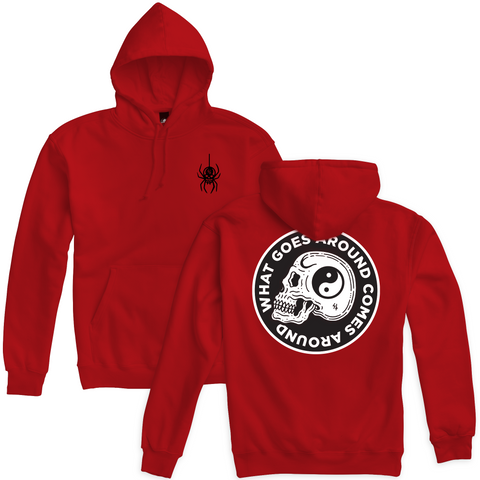 Widow Pullover Hoodie - Red