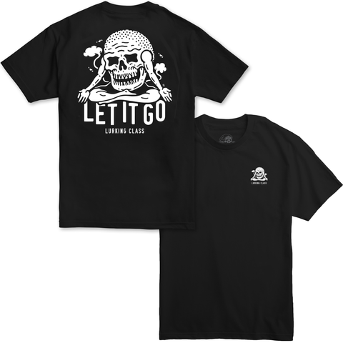 Let It Go Tee - Black