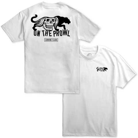 On The Prowl Tee - White