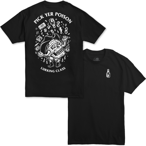 Pick Yer Poison Tee - Black