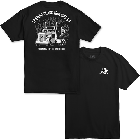 Lurking Class Trucking Co - Black